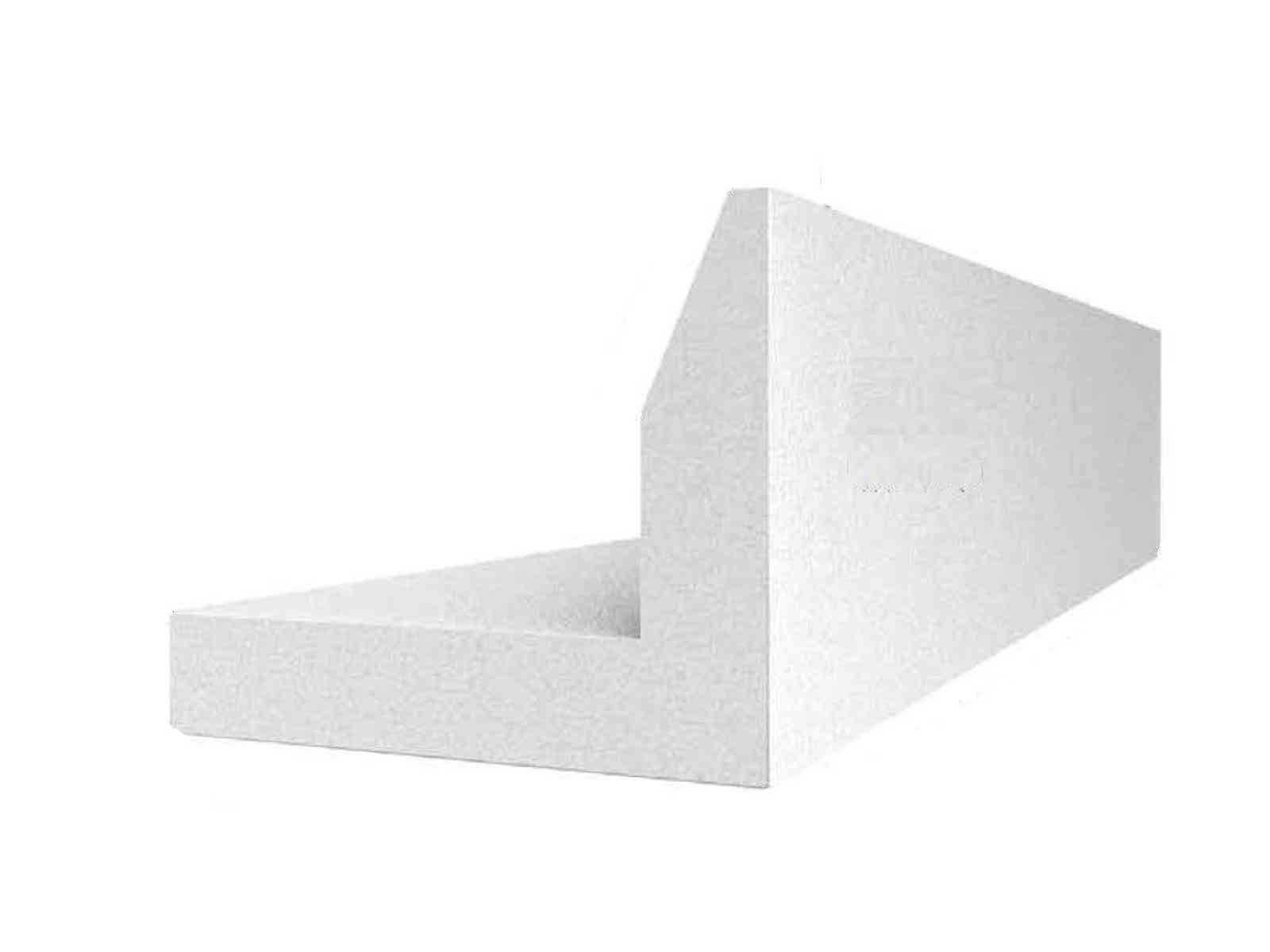 L plus elements karkasa ēku plātņu pamatiem